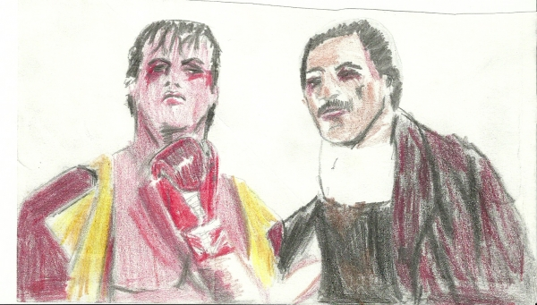 Sylvester Stallone by rajen1977